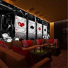 Tapeten Wandbild Aufkleberbenutzerdefinierte Poker