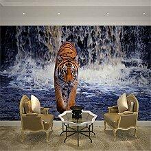 Tapeten Wandbild Wandaufkleber8D Große Tiger