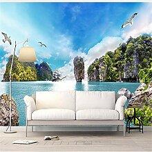 Tapeten Wandbild Wandaufkleber3D Landschaft Tapete