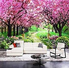 Tapeten Wandbild Wandaufkleber8D Moderne Blume