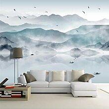 Tapeten Wandbild Wandaufkleberabstrakte Landschaft