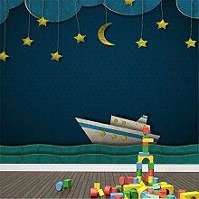 Tapeten Wandbild Wandaufkleberhelles Schiff Und
