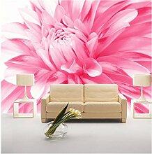 Tapeten Wandbild Wandaufkleberrosa Blume Wandbild