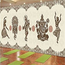 Tapeten Wandbild Wandaufkleberthai Restaurant Yoga