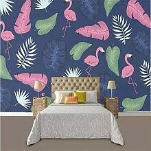 Tapeten Wandbild Wandaufklebertropische Flamingo