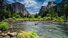 Tapeten Wandbildansicht von Yosemite Nationalpark
