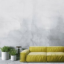 Tapeten, Wanddeko, Tapete (195 x 130 cm, Grayscale Ombre Aquarell Selbstklebende Tapete DIY Wanddeko Kreative Ideen)