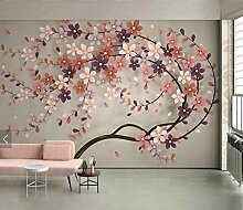 Tapeten Wandtattoos Wandbilder 3D Baum Blume