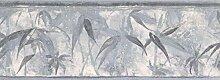 Tapetenbordüre – Blätter Tapete Bordüre