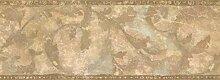 Tapetenbordüre - Blätter Tapete Bordüre ZN76162