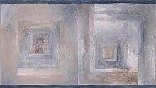 Tapetenbordüre mit abstraktem Muster,