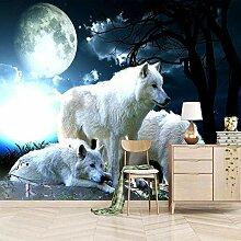 Tapetenkleister Fototapete,350x256cm Mond Weißer