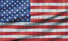 Tapeto Fototapete - Amerikanische Flagge USA -