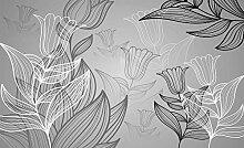 Tapeto Fototapete - Blumen Wald Natur - Vlies