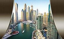 Tapeto Fototapete - Dubai City Skyline - Vlies