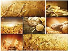 Tapeto Fototapete - Essen Brot Weizen - Vlies 254
