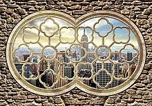 Tapeto Fototapete - Fenster New York City Empire