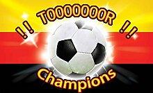 Tapeto Fototapete - Fußball Deutschland - Papier