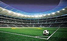 Tapeto Fototapete - Fußball Stadion Sport - Vlies