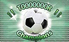 Tapeto Fototapete - Fussball - Vlies 208 x 146 cm