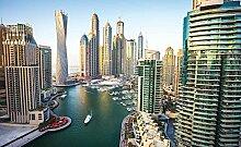 Tapeto Fototapete - Stadt Dubai City Skyline