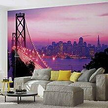 Tapeto Fototapete - Stadt Skyline Golden Gate