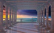 Tapeto Fototapete - Strand Sonnenuntergang