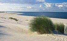 Tapeto Fototapete - Sylt Strand Meer Sand - Papier