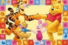 #tapis pour enfant motif disney winnie