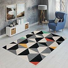 TAPISO Canvas Modern Teppich Kurzflor   Designer