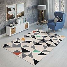 Tapiso Canvas Modern Teppich Kurzflor | Designer