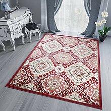 Tapiso Dubai Teppich für Wohnzimmer, klassisch,