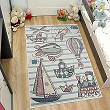 TAPISO HAPPY Kinder Teppich Kurzflor Designer