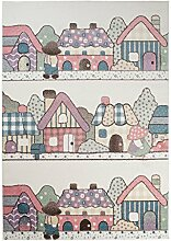 TAPISO Happy Kinder Teppich Kurzflor Modern