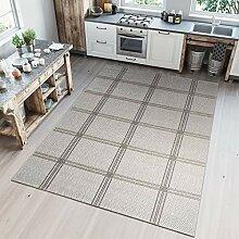 Tapiso Nature Teppich für Küche Terrasse