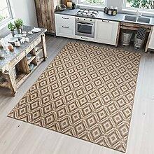Tapiso Nature Teppich für Küche, Terrasse,