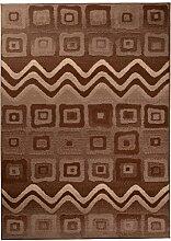 Tapiso Scarlet Teppich Kurzflor Indianer Teppiche