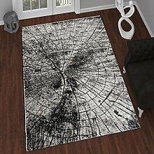 TAPISO Tango – Traditionell Grau Teppich für Wohnzimmer - Perser Blumenmuster Geometrisch Kreisförmig für Klassische Inneneinrichtung - Hochwertiger Teppich für Schlafzimmer - Traditioneller Design für zu Hause 240 x 330 cm