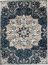 Tapiso Teppich Shaggy Meliert Rossete Floral