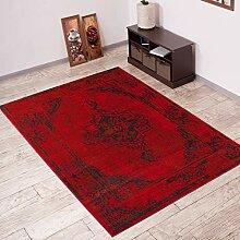 Tapiso Vintage Teppich Wohnzimmer Orient Muster
