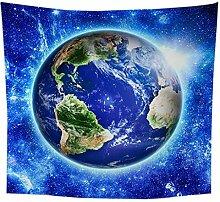Tapisserie Earth Tapestry 3D Druck böhmischen