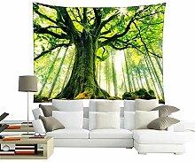 Tapisserie Forest Tapisserie Wandbehang Kunst