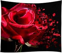 Tapisserie Verwelkt Rose Tapestry 3D Digitaldruck