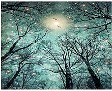 Tapisserie Wandbehänge, Türkei Mond Sterne