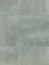 Tarkett Essential 30 Designbelag Vinyl Venezia grau PVC Vinyl-Design-Bodenbelag Fliesen wTE3979001