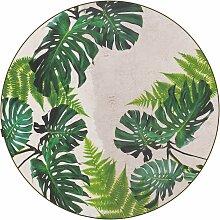 Tarkett Leaves Tropical Teppich Vinyl 196 (Ø)