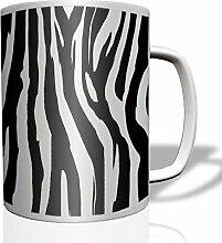 Tarn Zebra Tarnmuster Muster Kaffee Becher Tasse