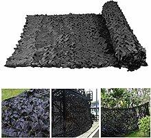 Tarnnetz für Garten, Schwarz Tarnnetz 2x3m 3x5m