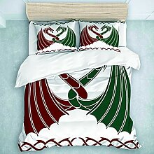 TARTINY Bedding Bedrucktes Bettbezug-Sets