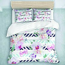 TARTINY Bedding Bedrucktes Bettbezug-Sets